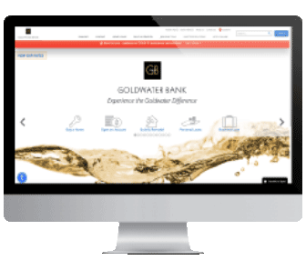 Example of custom website