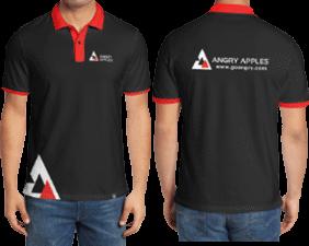 Example of custom logo clothing